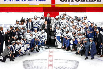Tampa Bay Lightning Celebrate Stanley Cup WIn